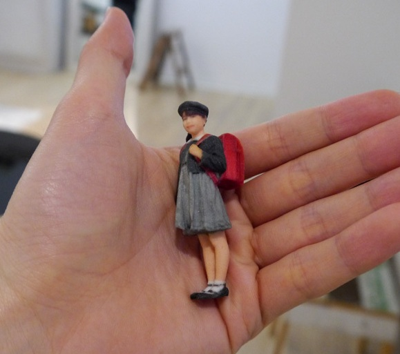 Life in Mini: Our Reporter Mr. Sato Turns Himself into a Tiny Plastic Figure