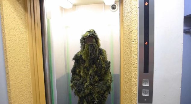 Urban Soldier: Mr. Sato Dons Camo for a Call of Duty-Inspired Coffee Dash