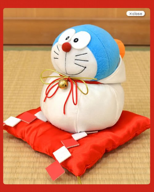Doraemon (No, it's Not Hello Kitty This Time) Cosplays to Bring You Luck in the New Year!