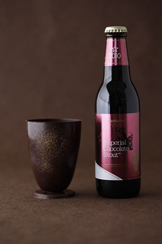 What's Better than Chocolate Beer? Chocolate Beer in a Chocolate Glass!