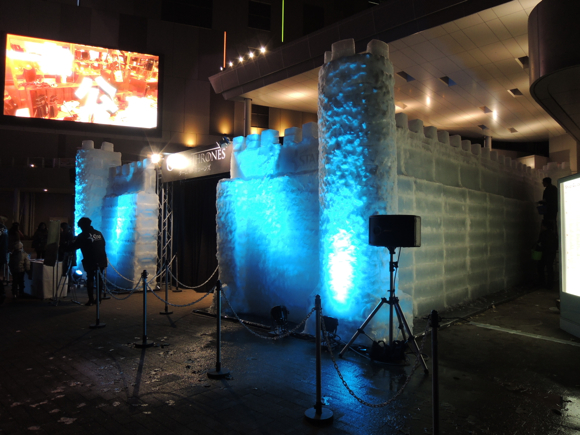 Japan Celebrates Premiere of Game of Thrones with Ice Castle Theater — in the Worst Location Possible