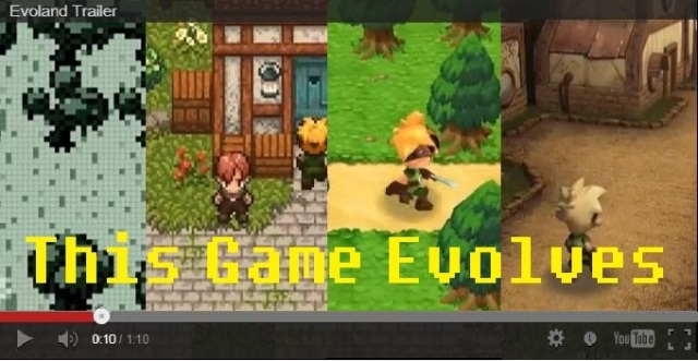 New Video Game Evoland Turns Technological Advancement into a Game in its Own Right