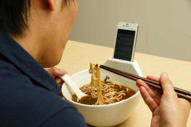 Surf While You Slurp: Anti-Loneliness Ramen Bowl Promises Relief for Singles