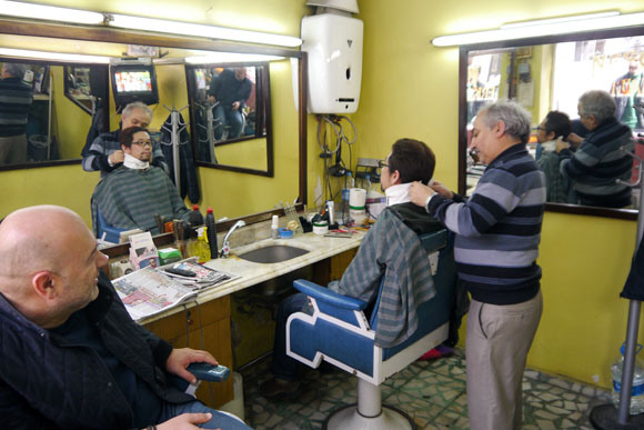 "Mr. Sato Gets a Turkish Makeover with ""A Popular Hairstyle"" of the Nation"