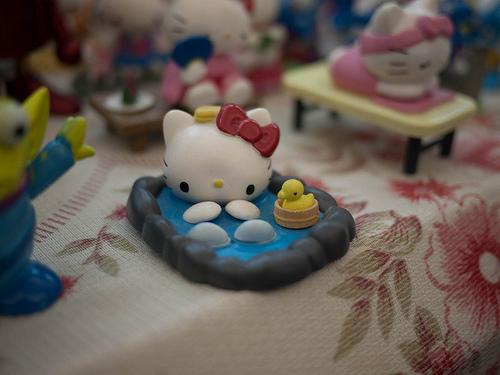 Hello Kitty onsen