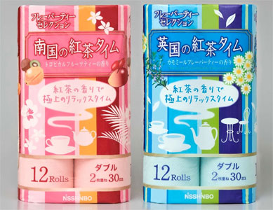 Enjoy Tea Time on the Toilet with Tea Scented TP