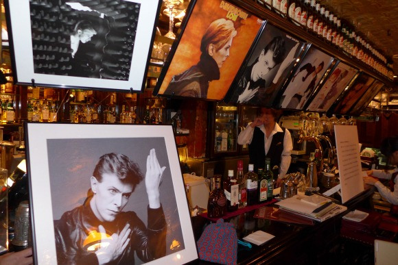 Ginza's David Bowie Café Now Open and in Full Funky Swing