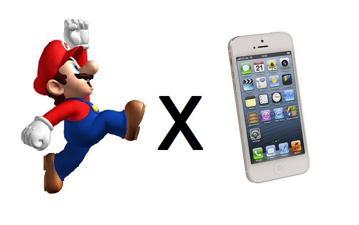 Mario iphone title
