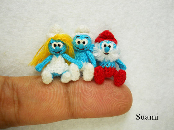 Mini Crochet Animals 18