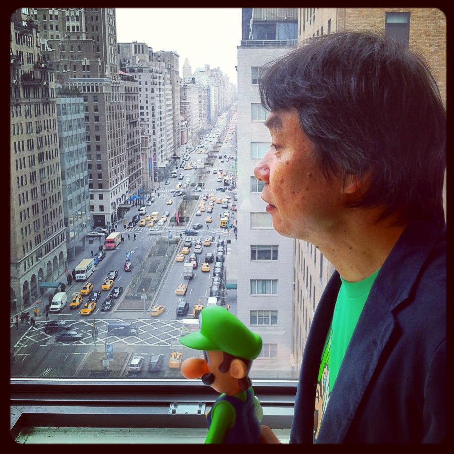 Miyamoto Luigi window