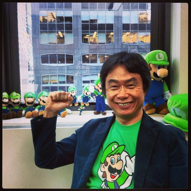 Nintendo's Top Dog Takes Luigi to America Prior to Release of New 3DS Title