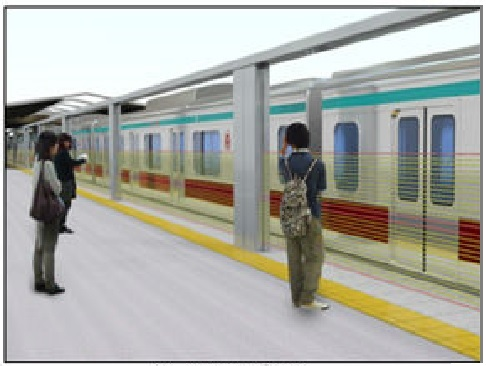 New Rising Barrier System for Japan's Stations