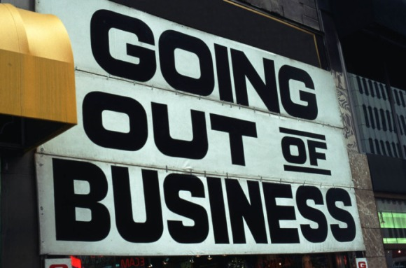 out of biz