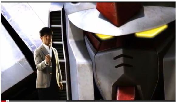 Gundam Pachinko Ad Slowly Driving Japan's YouTube Users Insane