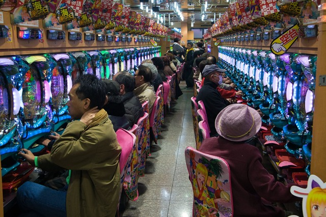 Korea's Ban on Pachinko Pinball Gambling Sees an Increase in Gamblers Coming to Japan