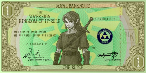 I'll Take a Red Potion and a Bag of Deku Nuts: The Zelda Banknotes We Wish were Real
