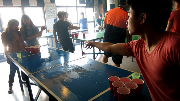 Beer Pong Becoming Increasingly Popular in the Philippines
