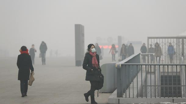 Air Pollution Accounting for 15 Percent of Deaths in China