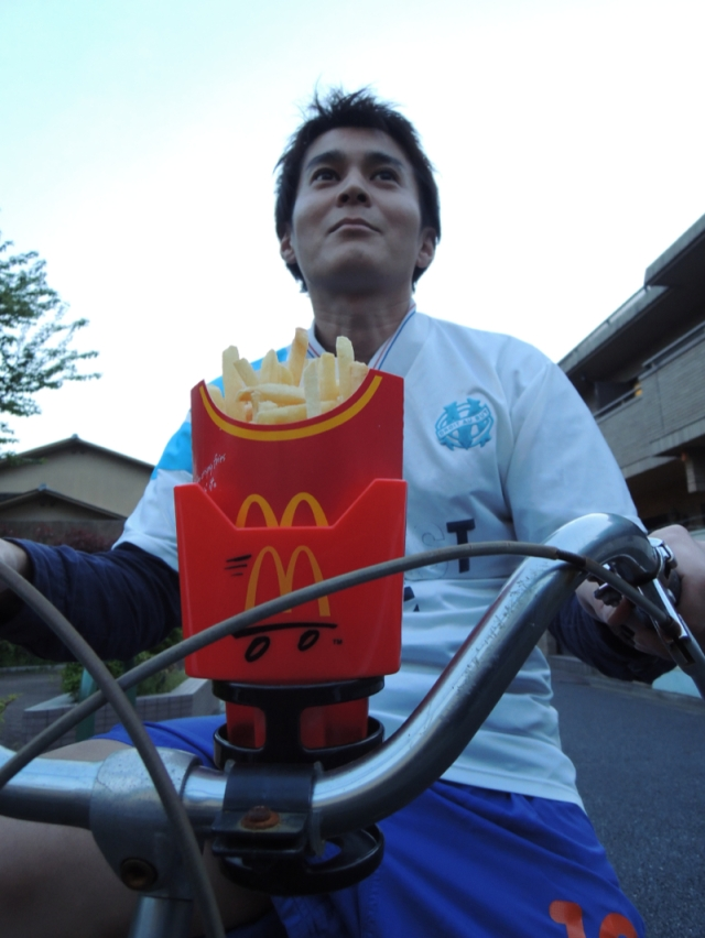 We Take the McDonald's Potato Holder For a Test Ride