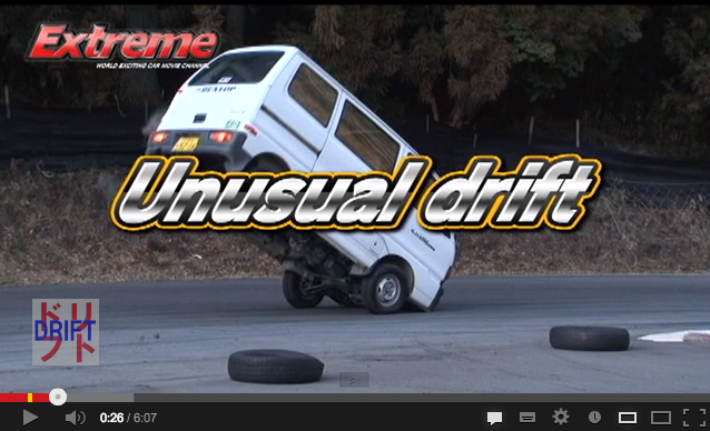Extreme Drifting in Modified Kei Car, Even Better English Subtitles 【Video】