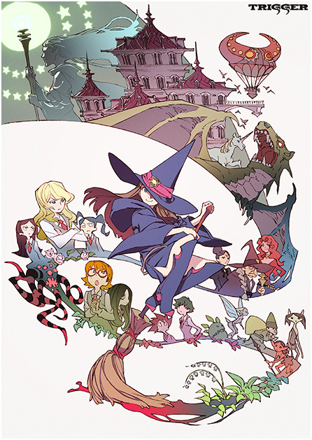 Little Witch Academia: the New Anime Taking the World by Storm 【Video】