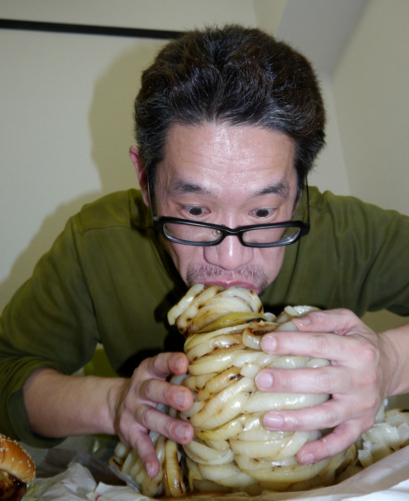 Mr. Sato Food Challenge