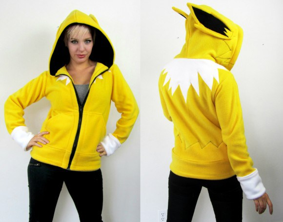 Dress as Your Favorite Pokémon: Character Fleeces Available on Etsy
