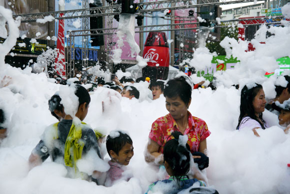 We Get Wet and Wild at Thailand's Water Festival