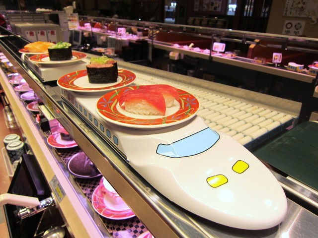 Customers' Behaviour Changing Sushi Culture in Japan