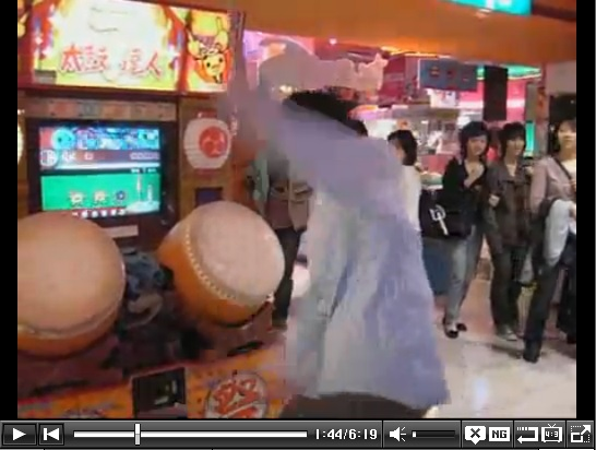 Young Man Beats the Hell out of Demon Mode Taiko No Tatsujin, Possibly Some Onlookers as Well