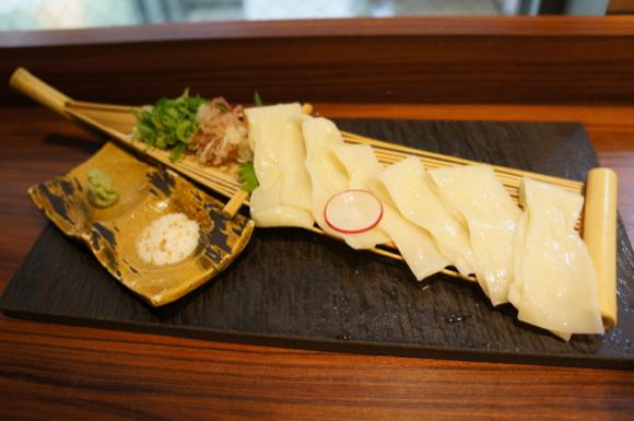 "Noodles Go Gourmet: We Sample ""Udon Sashimi"" in Tokyo"