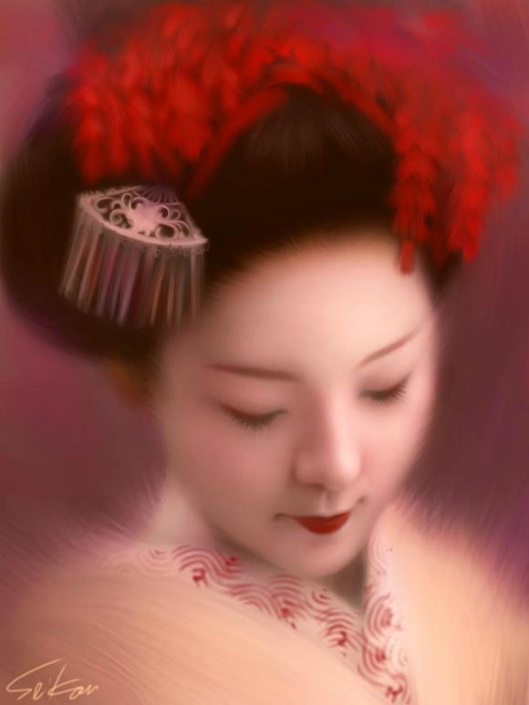 Japanese iPad artist is the Leonardo da Vinci of digital finger paints 【Video】
