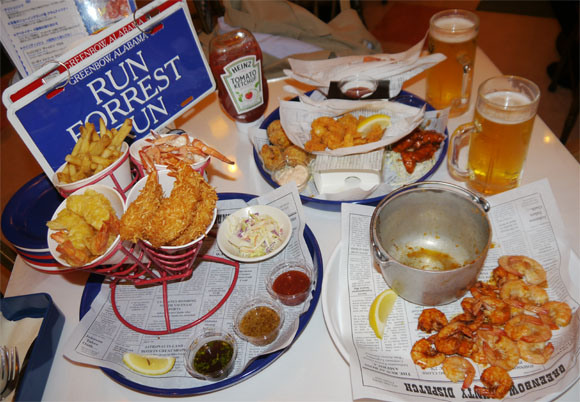 Run, Forest! Run to your Nearest Bubba Gump Shrimp for Seafood so Tasty Even Japan is Enamored  【3-D Photos】