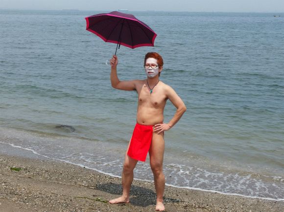 Hyper Cool Biz 2013 Line Announced: Fundoshi and Parasols Hot This Year for the Trendy Businessman