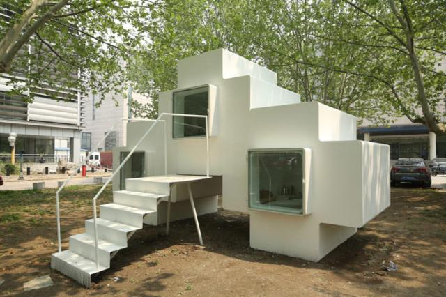 Stackable Cube Homes the Answer to Beijing's Housing Problems?