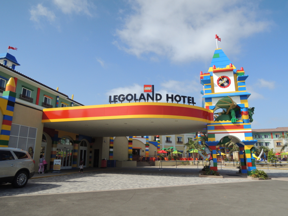 We spend a night at the Legoland Hotel (no assembly required)