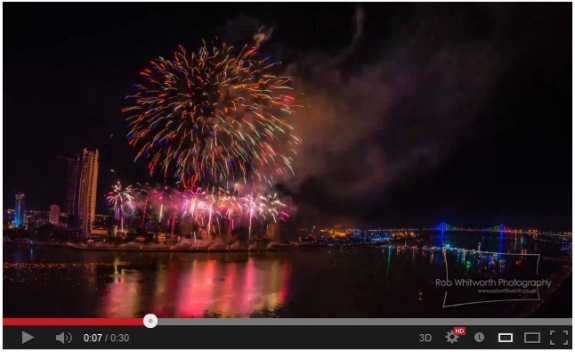 A special visual treat from Vietnam, with plenty of bang! 【Video】