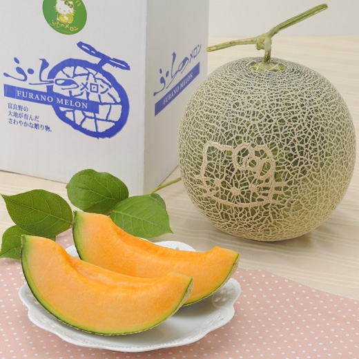 Hello Kitty Melons Selling for an Exorbitant Price in Japan