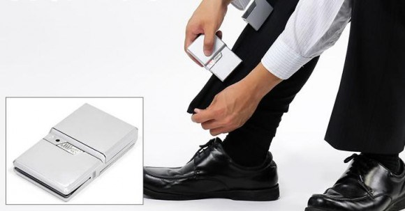 Keep your clothes looking sharp on the go with a Portable Trouser Press