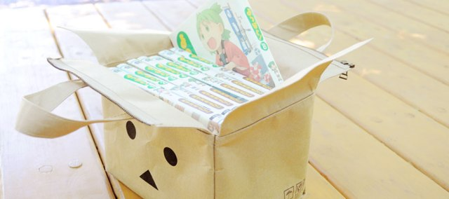 """Japanese apparel maker brings back """"Derelicte"""" style with Danbo cardboard box bags"""