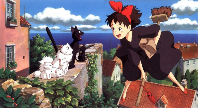 First picture from set of live-action Kiki's Delivery Service released