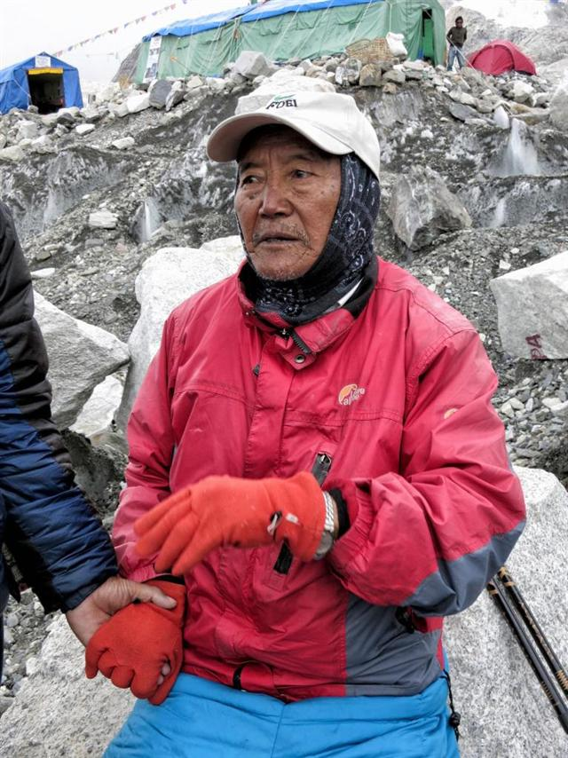 80-year-old Japanese man conquers Everest, 81-year-old Nepalese rival hot on his heels