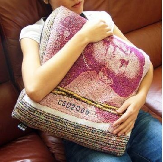 Love Money? Cuddle Your Cash with this Chinese Money Pillow!