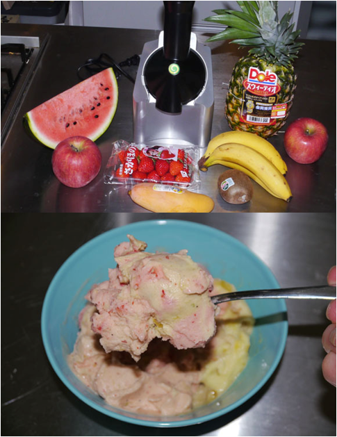 Forget FroYo – We Make a Delicious Frozen Dessert With Two Ingredients: Fruit and a Yonanas Machine!