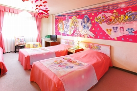 Even Your Creepy Male Otaku Friend Can Become a Real Princess with this Hotel's 'Pretty Cure' Stay Plan