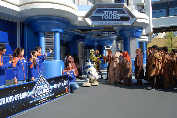 Star Wars Takes Over Tokyo Disneyland to Celebrate Reopening of Star Tours