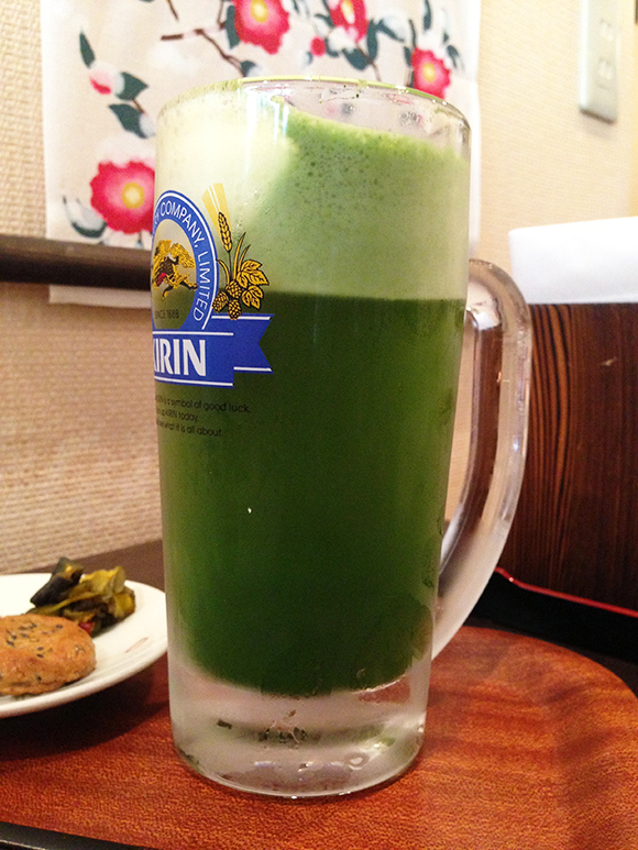 99-Year-Old Tea Shop Offers Something New: Green Tea Beer