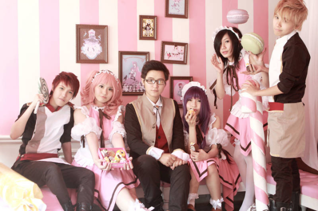 Vietnamese Trade Ao Dai for Anime-Inspired Uniforms and Collars at Ho Chi Minh City's First Locally-Owned Maid Café