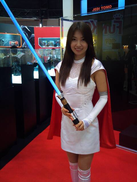 Tokyo Toy Fair: The only place you'll see cute girls and Star Wars figures in the same room