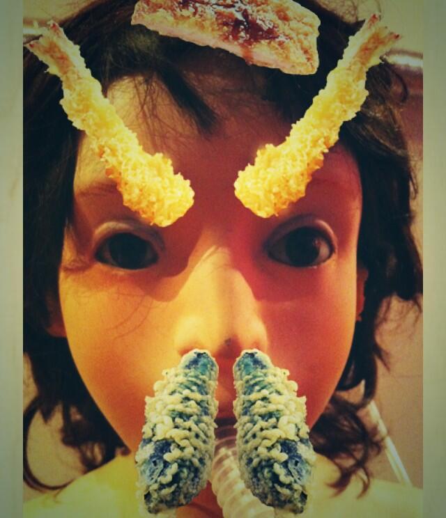 Tempura-fy your face with noodle chain's photo app